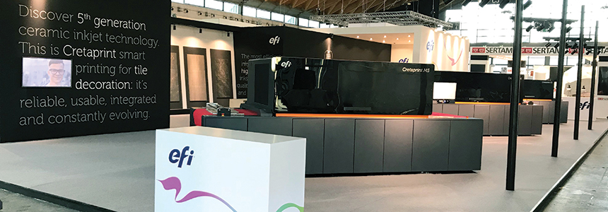 New Tile Designs Achieving With Efi Cretaprint Technology